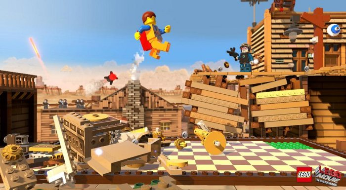 detail LEGO MOVIE: THE VIDEOGAME - PS4