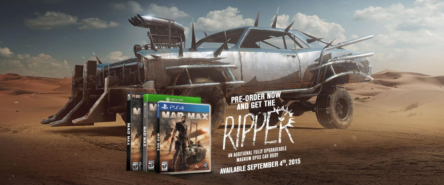 SONY PlayStation 4 - Mad Max