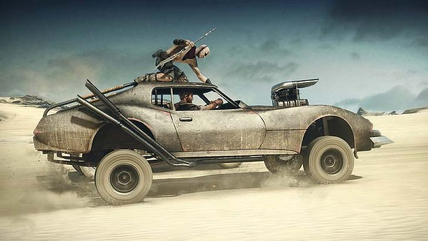 Mad Max pro Playstation 4