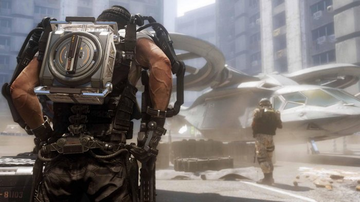 detail CALL OF DUTY: ADVANCED WARFARE - PS4