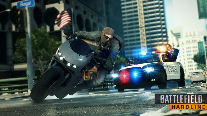 detail BATTLEFIELD: HARDLINE - PS4