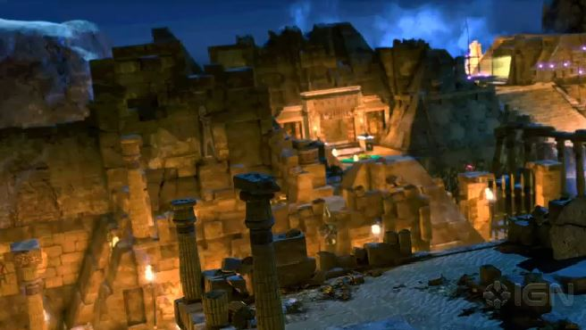detail Lara Croft and the Temple of Osiris - PS4
