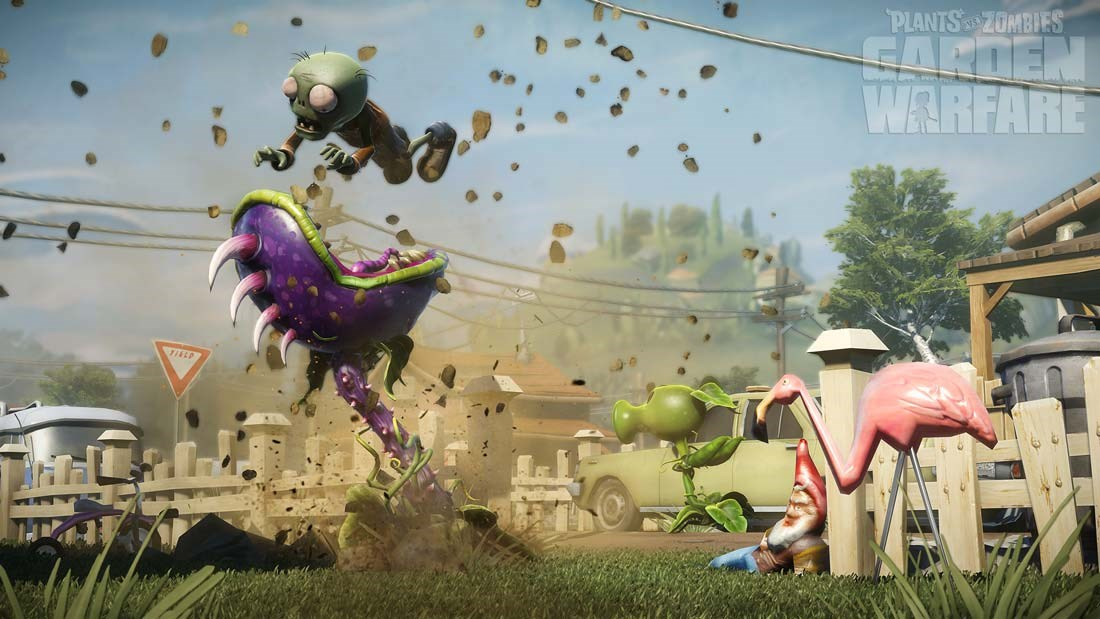 Plants vs. Zombies Garden Warfare pro PS4