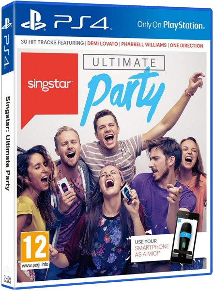 detail SINGSTAR ULTIMATE PARTY - PS4