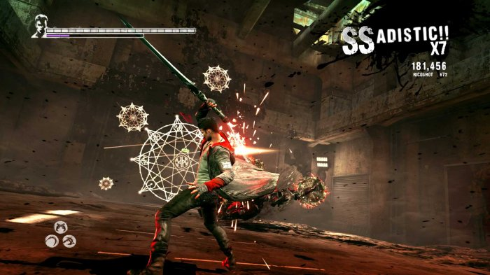detail Devil May Cry: Definitive Edition - PS4