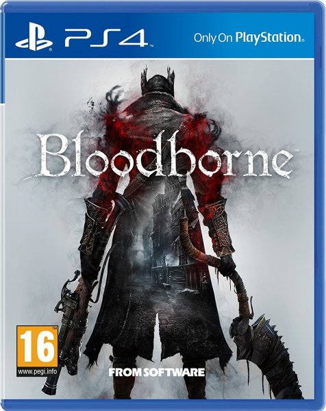 detail Bloodborne HITS - PS4