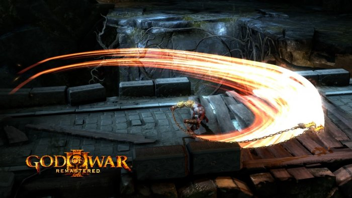 detail God of War III Remastered - PS4