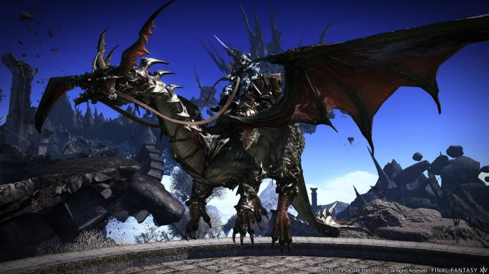 detail Final Fantasy XIV: Heavensward (Online) - PS4