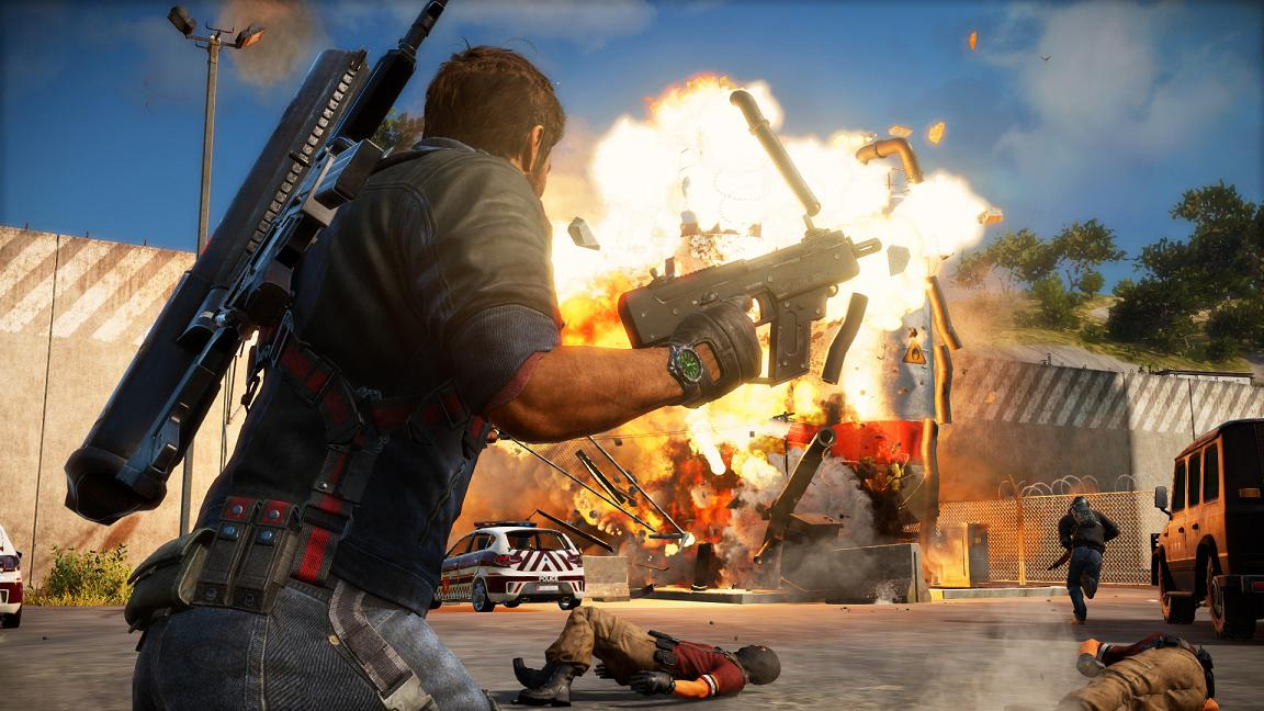 Just Cause 3 pro PS4