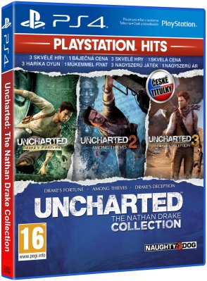 Uncharted: The Nathan Drake Collection Hits CZ - PS4