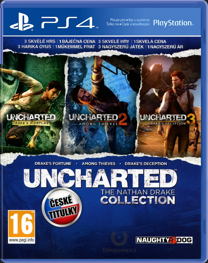 UNCHARTED: THE NATHAN DRAKE COLLECTION CZ - PS4