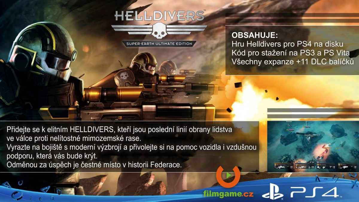 SONY PlayStation 4 - HELLDIVERS Super-Earth Ultimate Edition