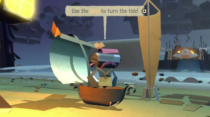 detail Tearaway Unfolded - PS4