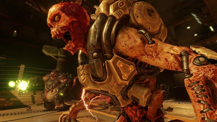 detail DOOM - PS4