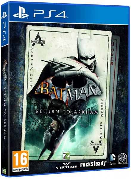 detail BATMAN: RETURN TO ARKHAM - PS4