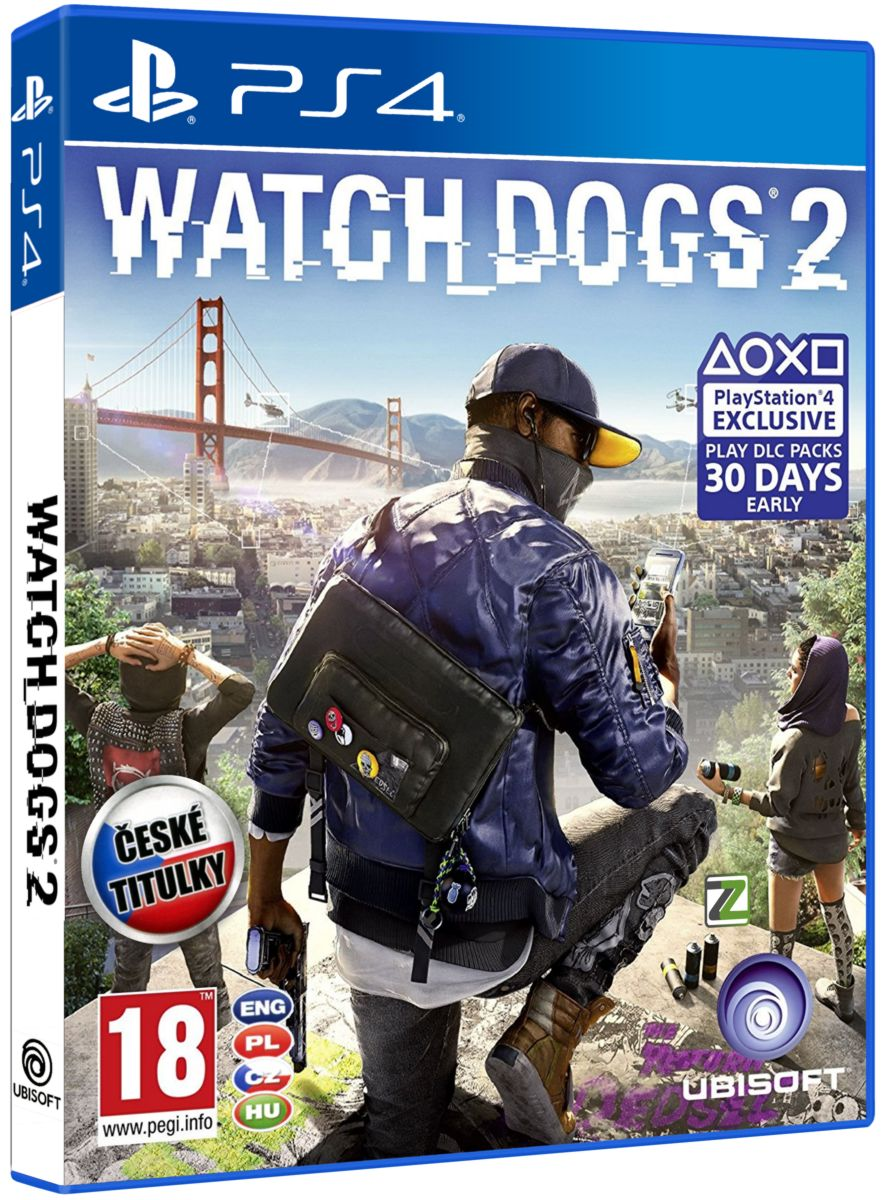 WATCH DOGS 2 CZ - PS4