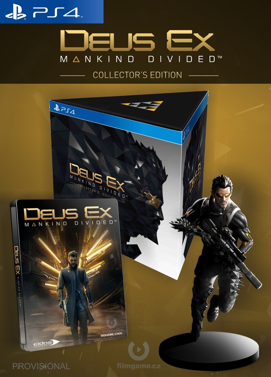 DEUS EX: MANKIND DIVIDED COLLECTORS EDITION - PS4