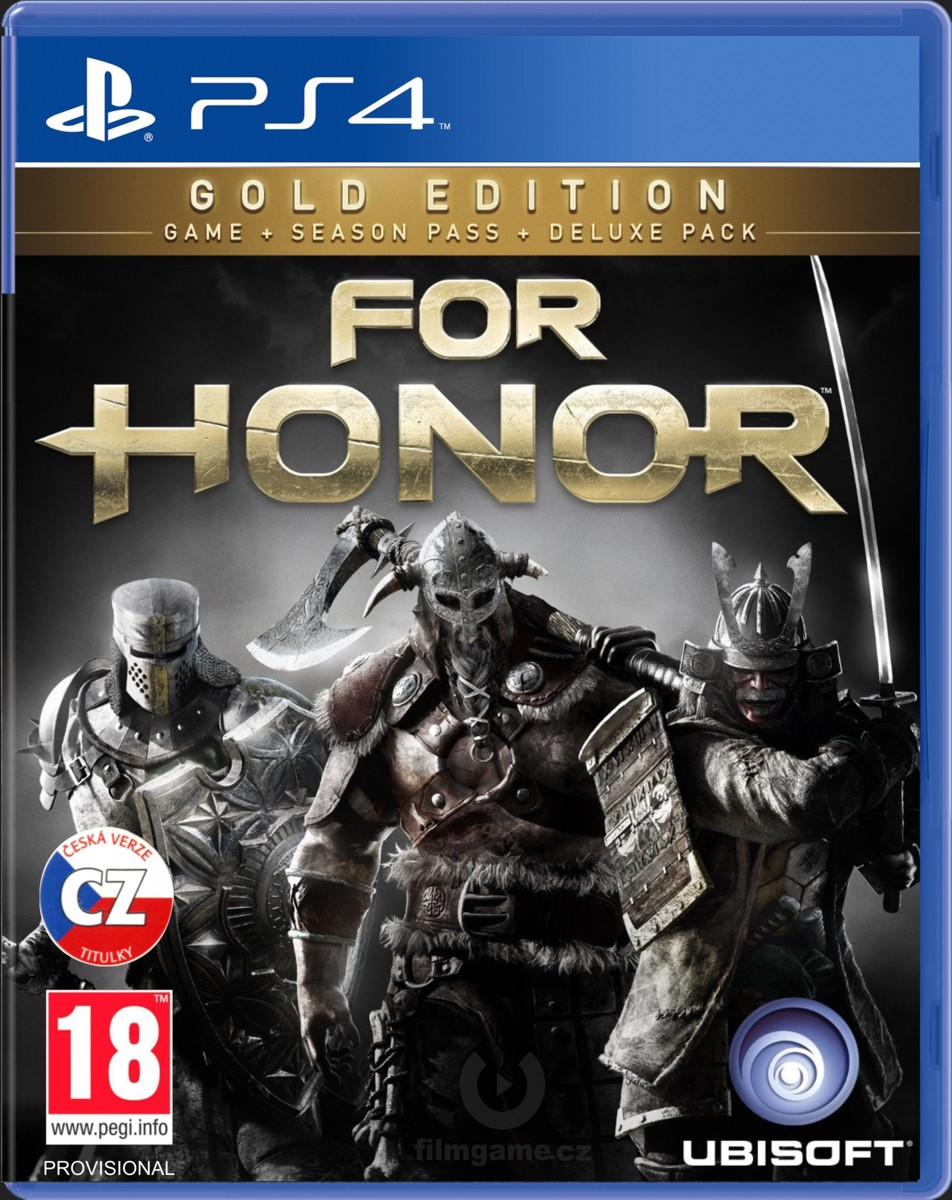 FOR HONOR GOLD EDITION - PS4