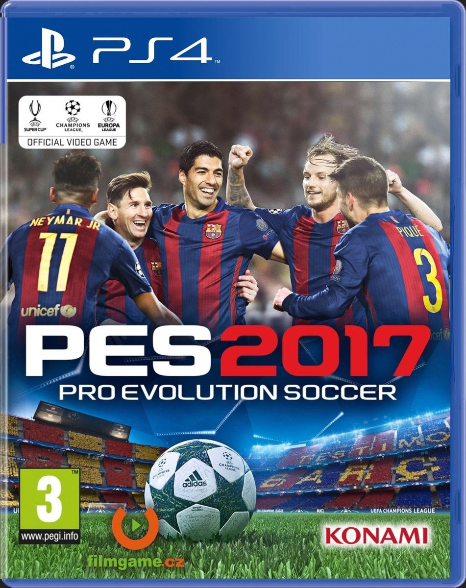 PRO EVOLUTION SOCCER 2017 - PS4