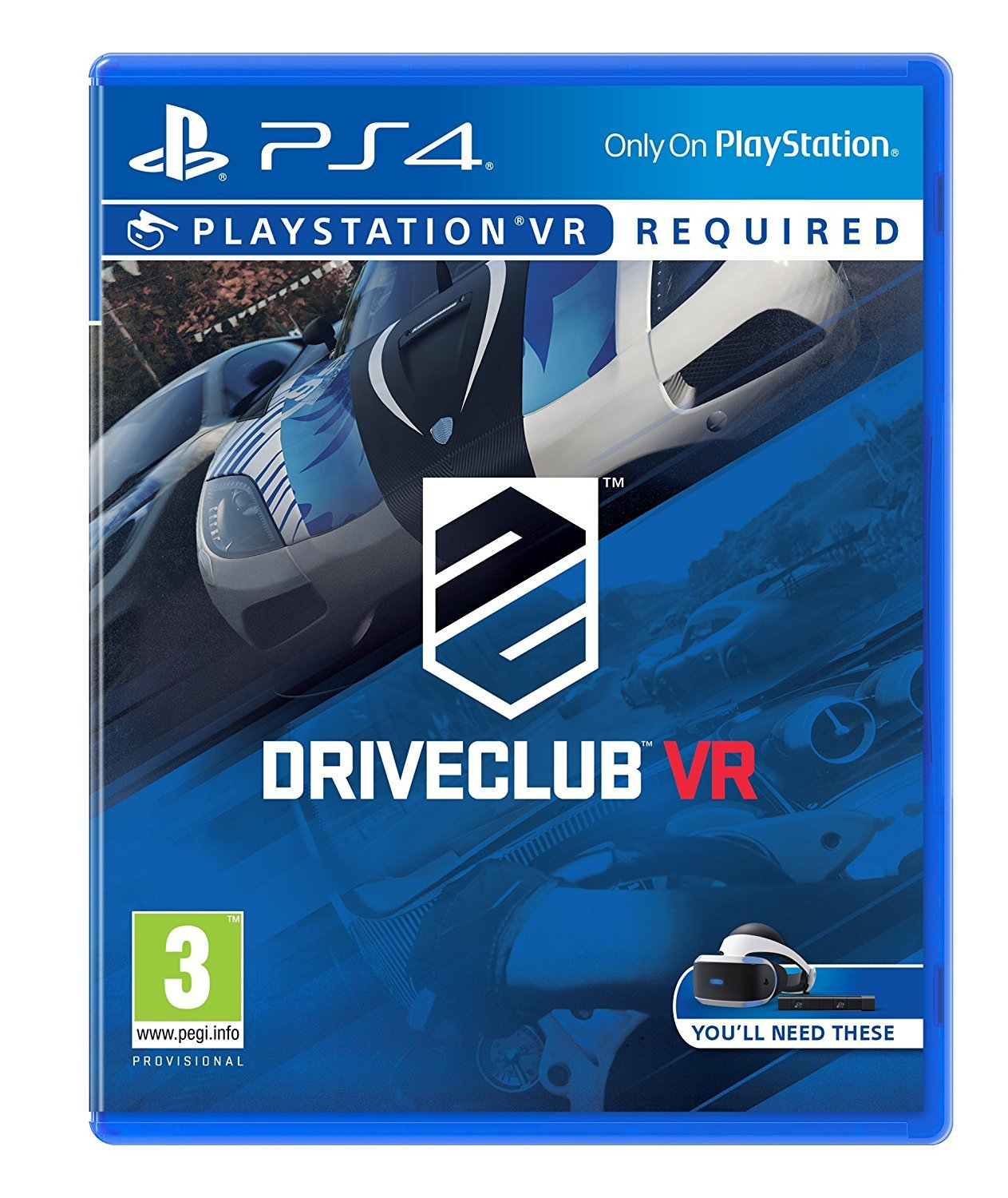 DRIVECLUB - PS4 VR