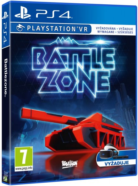 detail BATTLEZONE - PS4 VR
