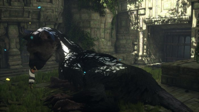 detail The Last Guardian - PS4