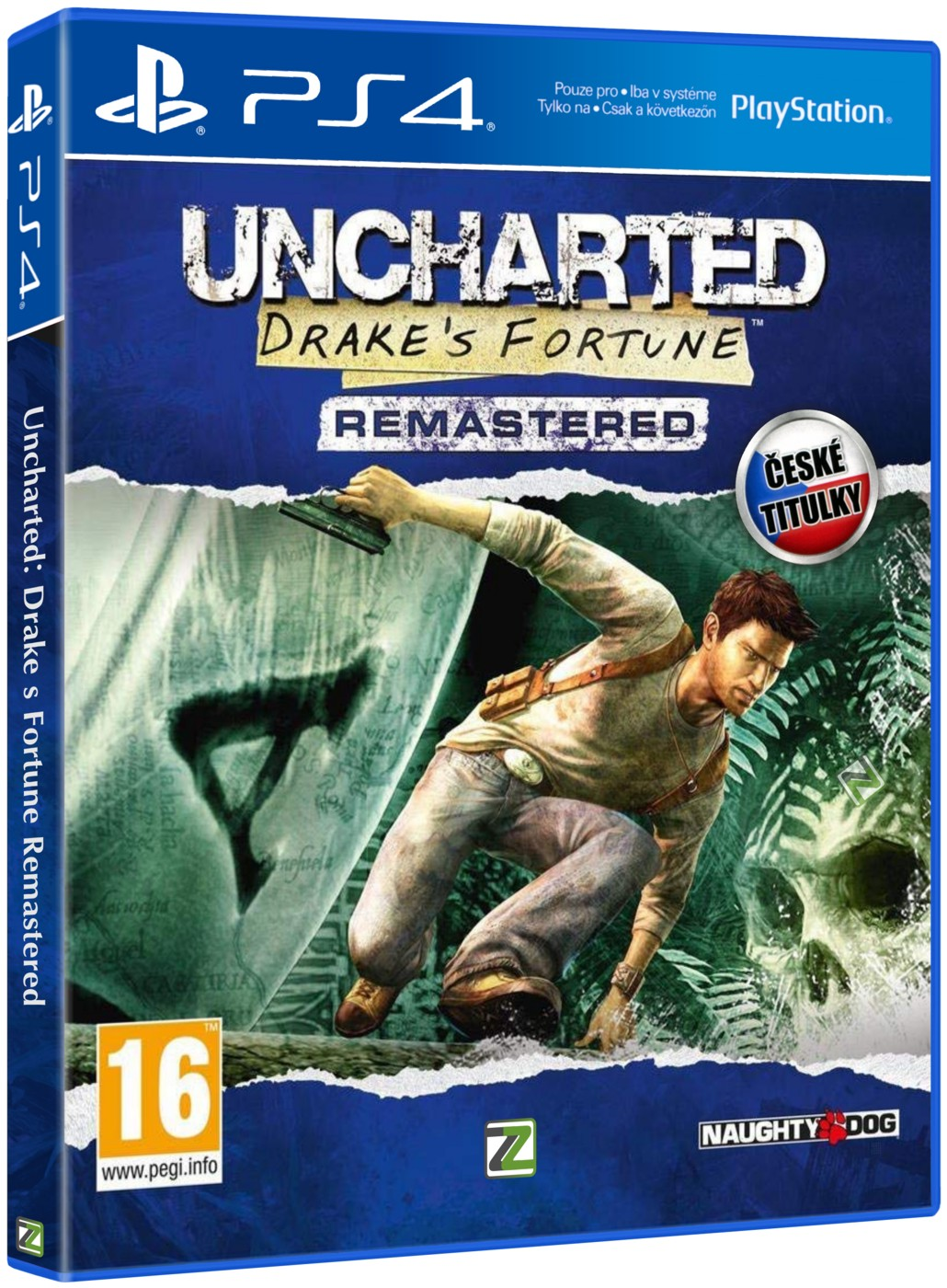 UNCHARTED: DRAKE'S FORTUNE REMASTERED - PS4