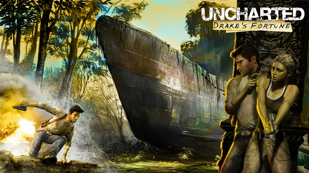 SONY PlayStation 4 - Uncharted: Drake's Fortune REMASTERED
