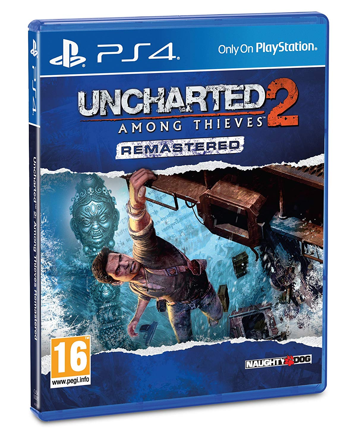 UNCHARTED 2: AMONG THIEVES REMASTERED - PS4
