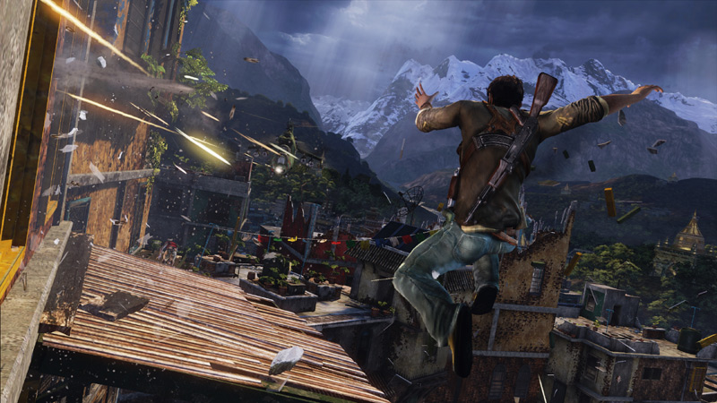 Uncharted 2: Among Thieves REMASTERED pro PS4
