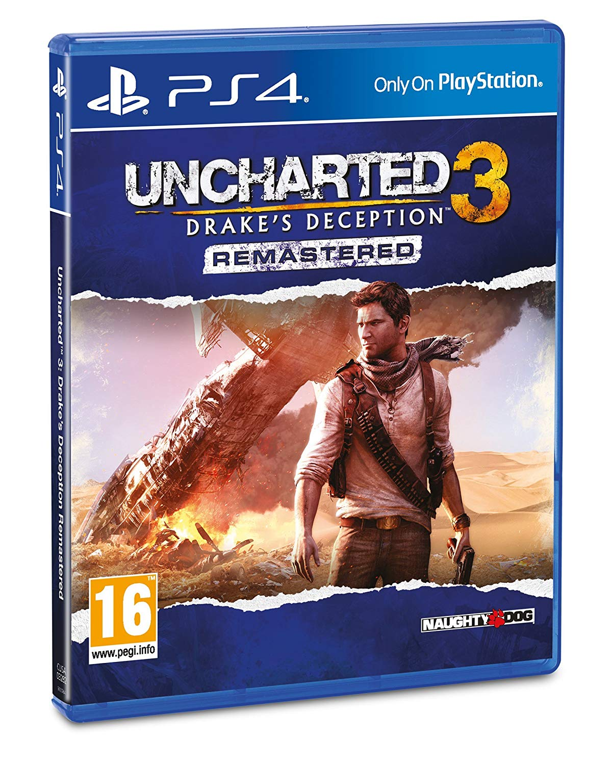 UNCHARTED 3: DRAKE'S DECEPTION REMASTERED - PS4