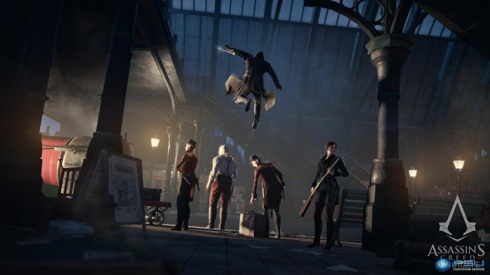 detail Assassins Creed Syndicate CZ - PS4
