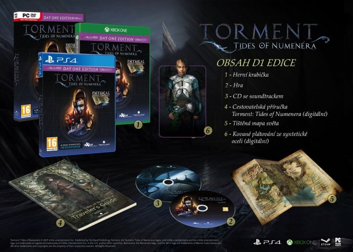 detail Torment: Tides of Numenera - Day One Edition - PS4
