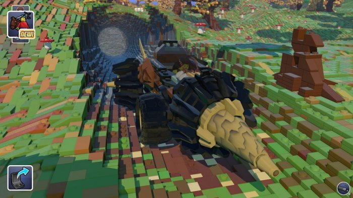 detail LEGO Worlds CZ PS4