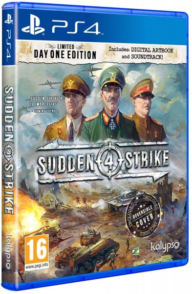 detail SUDDEN STRIKE 4 (LIMITED Day One Edition) - PS4