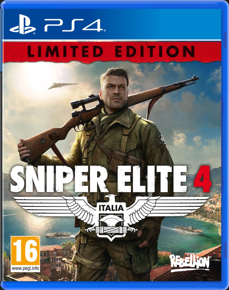 SNIPER ELITE 4 (Limited Edition) - PS4