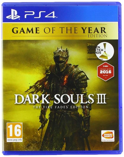 detail Dark Souls 3: The Fire Fades Edition (Goty) - PS4