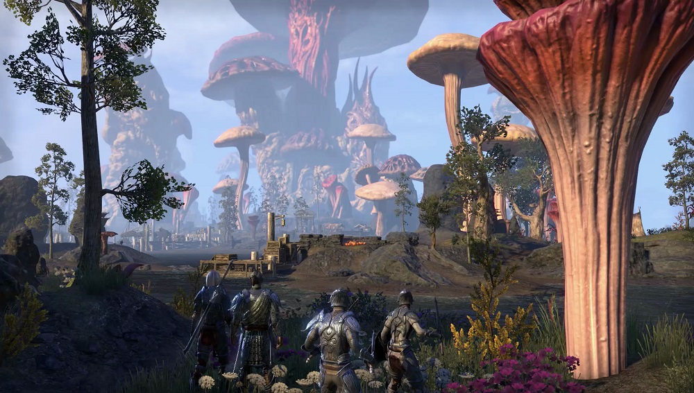 The Elder Scrolls Online Morrowind pro PS4
