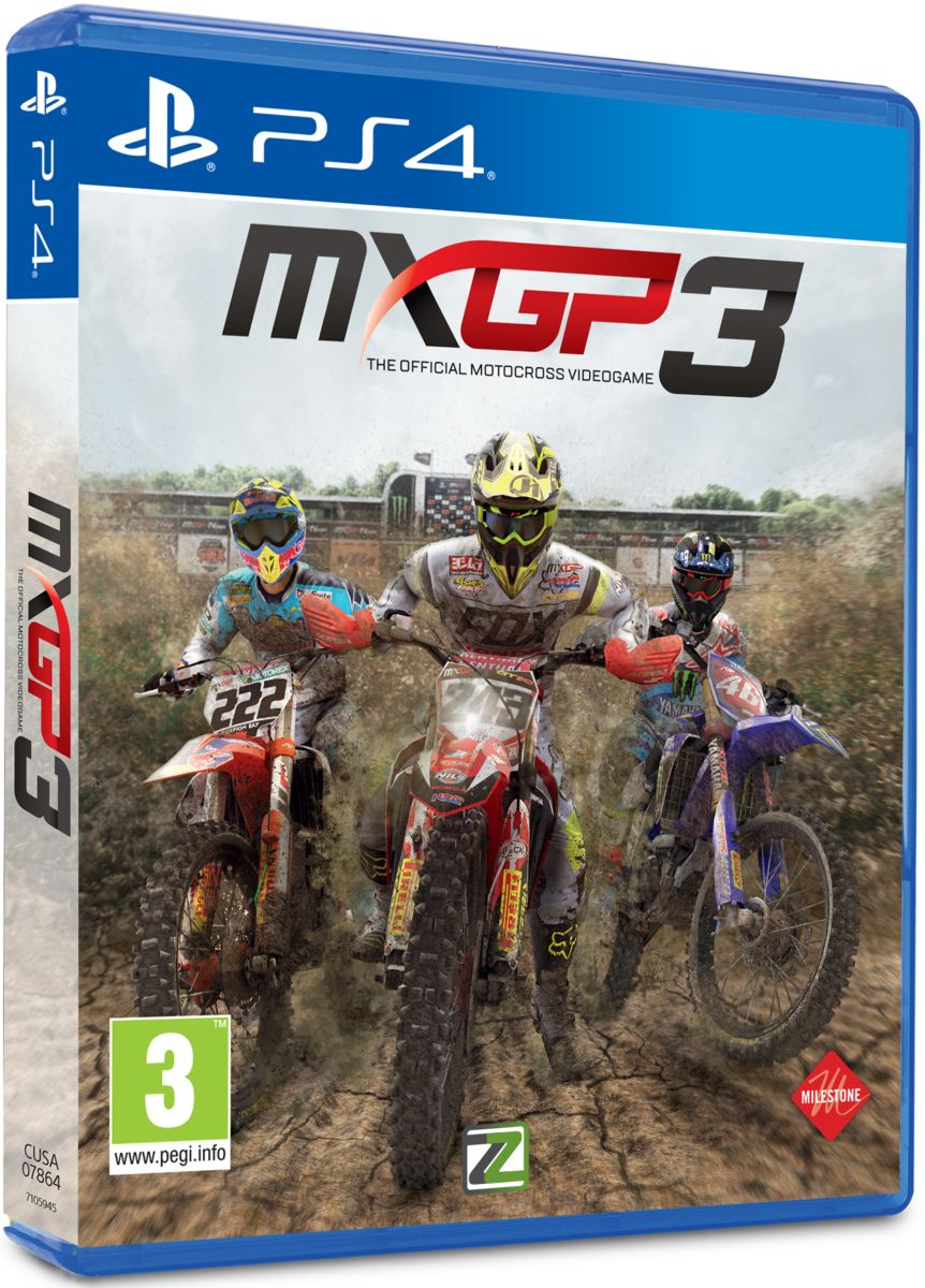 MXGP 3 – The Official Motocross Videogame - PS4