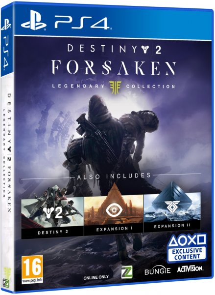 detail Destiny 2 Forsaken Legendary Collection - PS4