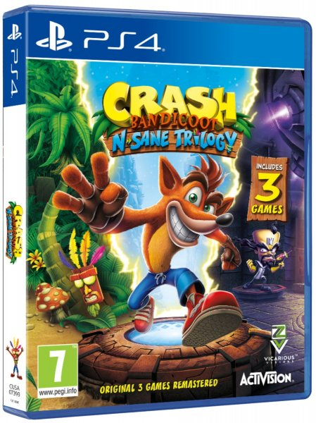 detail Crash Bandicoot N.Sane Trilogy - PS4
