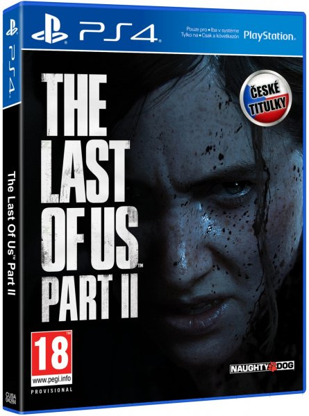 detail The Last of Us: Part II CZ - PS4