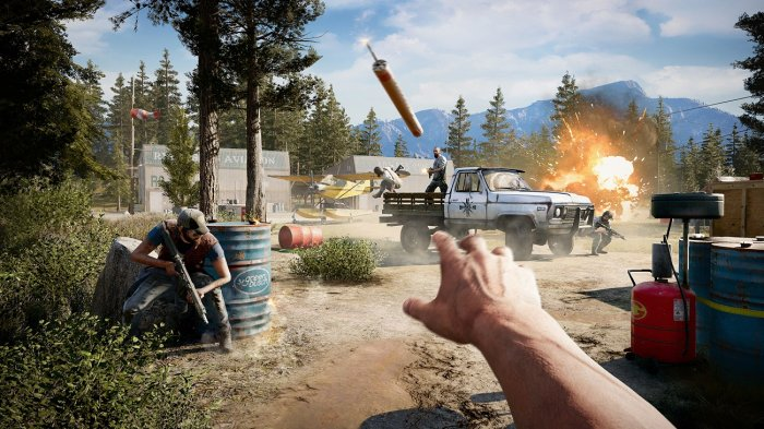 detail FAR CRY 5 - PS4