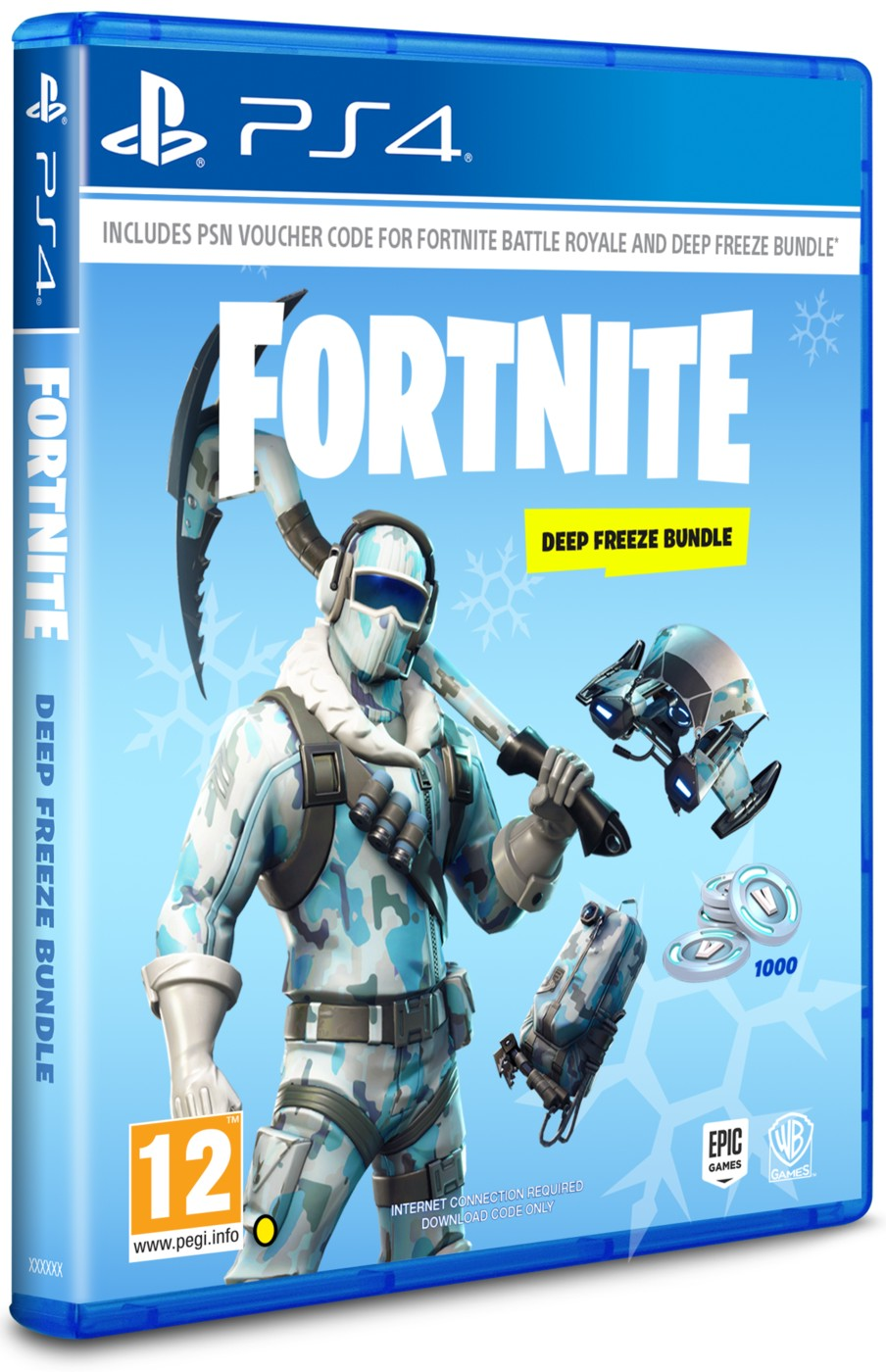 FORTNITE: DEEP FREEZE BUNDLE - PS4