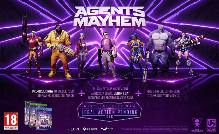 detail AGENTS OF MAYHEM - PS4