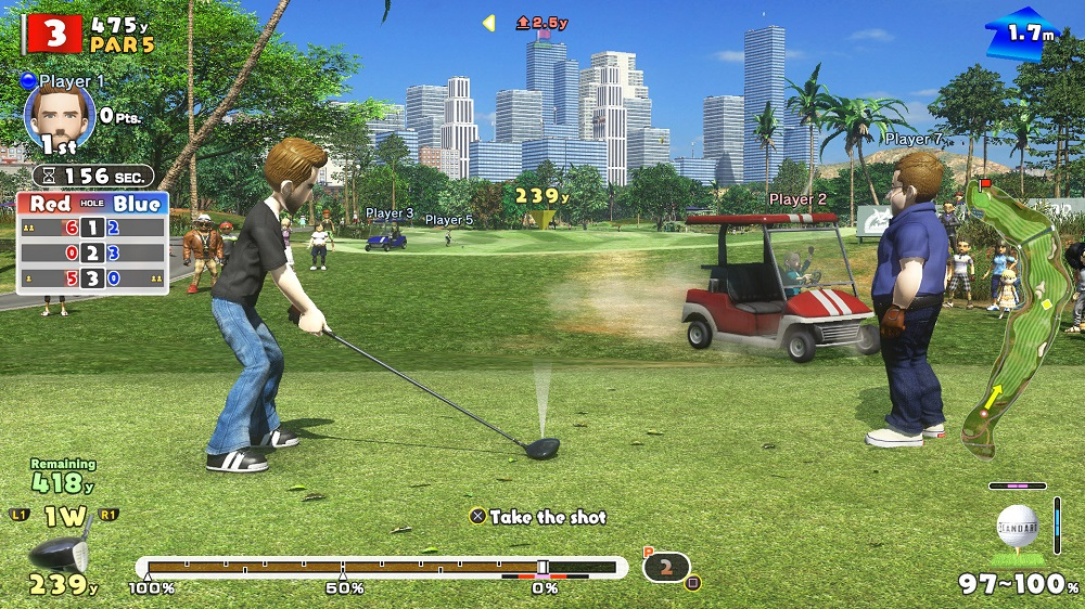 Everybody's Golf pro PS4