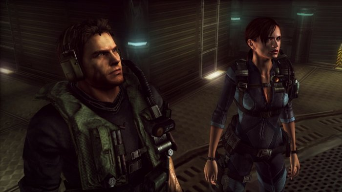 detail Resident Evil Revelations - PS4