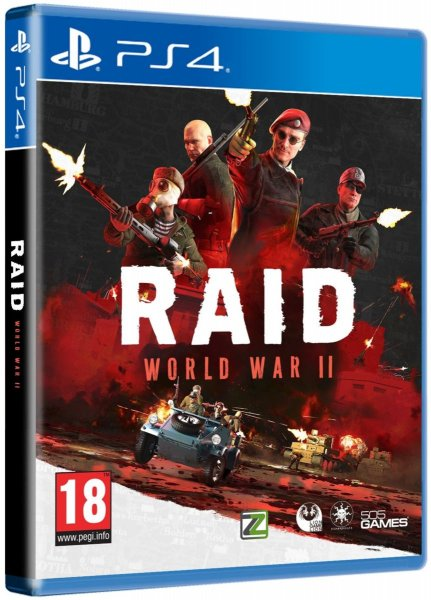 detail RAID: World War II - PS4