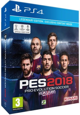 Pro Evolution Soccer 2018 Legendary Edition - PS4