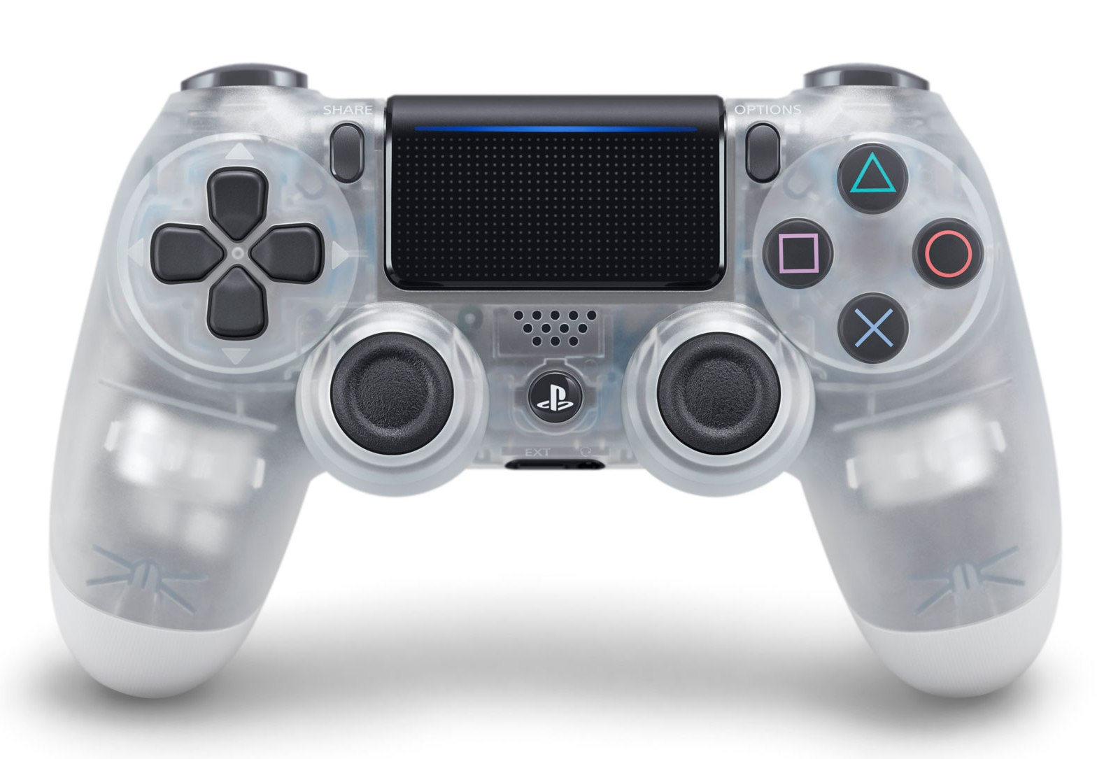 Dualshock 4 Wireless Controller V2 Crystal pro PS4